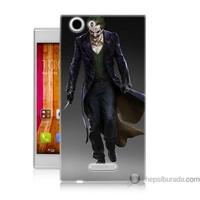 Bordo Casper Via V6 Kapak Kılıf Joker Klasik Baskılı Silikon