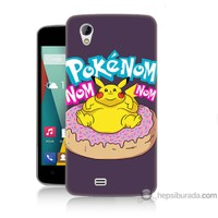 Bordo General Mobile Discovery 2 Mini Kapak Kılıf Obur Pokemon Baskılı Silikon