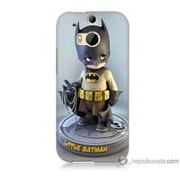 Bordo Htc One M8 Kapak Kılıf Batman Baskılı Silikon