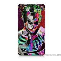 Bordo Huawei Mate 7 Kapak Kılıf Renkli Joker Baskılı Silikon