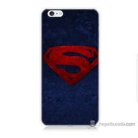 Bordo iPhone 6 Kapak Kılıf Süpermen Baskılı Silikon