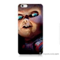 Bordo iPhone 6 Kapak Kılıf Chuky Baskılı Silikon