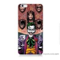 Bordo iPhone 6 Plus Kapak Kılıf Joker Keyfi Baskılı Silikon