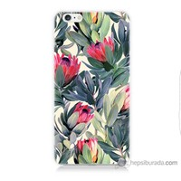 Bordo iPhone 6 Plus Kapak Kılıf Tablo Resim Baskılı Silikon
