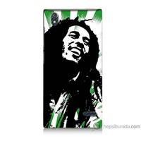 Bordo Turkcell T50 Kapak Kılıf Bob Marley Soft Baskılı Silikon