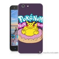 Bordo Turkcell T70 Kapak Kılıf Obur Pokemon Baskılı Silikon