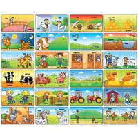 Orchard Çiftlik Zıt Anlamlar (3-6 Yaş / Puzzle )