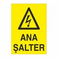 """Modülerteknik """"Ana Şalter"""" 25X35cm"""