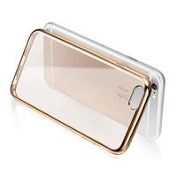 Iphone 6 Plus Altın Renkli Gold Yumuşak Şeffaf Kılıf cin13