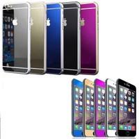Iphone 6/6S Siyah Ön ve Arka Aynalı Cam 4.7 Ekran cin19