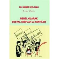 Genel Olarak Sosyal Sınıflar ve Partiler