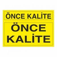 """Modülerteknik """"Önce Kalite"""" 25X35cm"""