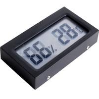 5 li Paket Büyük Punto Dijital Sıcaklık, Nem ölçer Saati ca72-5