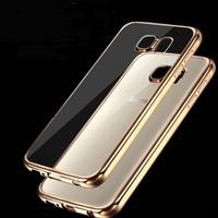 Glass Samsung Note 5 Altın Renkli Gold Yumuşak Şeffaf Kılıf cin24