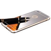 Iphone 6 Altın Renkli Gold Aynalı Yumuşak Şeffaf Kılıf cin25