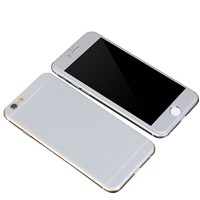 Iphone 6/S Gri 3D Curve Titanium Cam 4,7 Ekran cin30gr