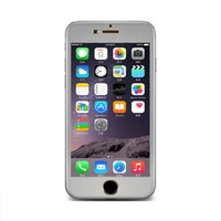 Iphone 6 ve 6S Silver 3D Curve Titanium Cam 4,7 Ekran cin35gr