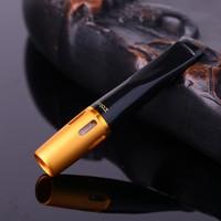 Zobo Sarı Çelik,Plastik Normal Sigara Ağızlığı, Ağızlık de27