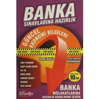 Banka Sınavlarına Hazırlık Güncel Ekonomi Bilgileri