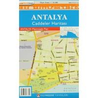 Antalya Caddeler Haritası