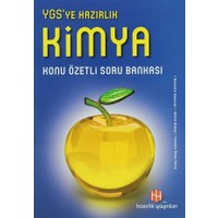 YGS'ye Hazırlık Kimya Konu Özetli Soru Bankası