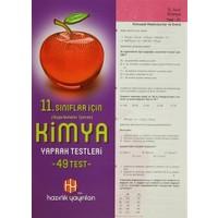 11. Sınıflar İçin Uygulamalar İçeren Kimya Yaprak Testleri (49 Test)
