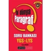 2016 YGS - LYS Bi'Dünya Paragraf Soru Bankası