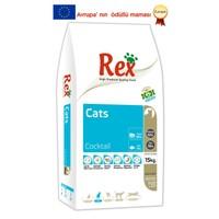 Rex Premium Cats Coctaıl Kedi Maması 15 kg