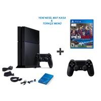 Sony Playstation 4 500 Gb Oyun Konsolu + Pes 2017 ( Türkçe ) + 2. Kol