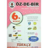 6. Sınıf Türkçe Yaprak Test Çek - Kopar