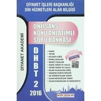 2016 DHBT 2 Önlisans Konu Anlatımlı Soru Bankası