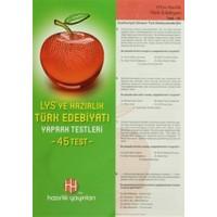 LYS'ye Hazırlık Türk Edebiyatı Yaprak Testleri (45 Test)
