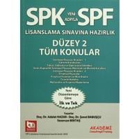 SPK Yeni Adıyla SPF Lisanslama Sınavlarına Hazırlık Düzey 2 Tüm Konular