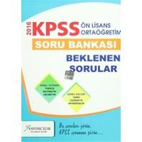 2016 KPSS Ön Lisans / Ortaöğretim Genel Kültür Genel Yetenek Soru Bankası
