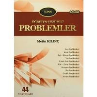 KPSS Öğreten Çözümlü Problemler