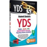 YDS Akademik Cümlelerle YDS-TOEFL-IELTS-FCE Altın Seri 5