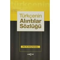 Türkçenin Alıntılar Sözlüğü