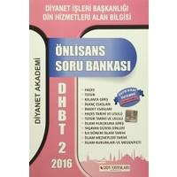 DHBT - 2 Soru bankası Önlisans (2016)