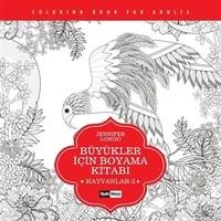 Büyükler için Boyama Kitabı - Hayvanlar 2