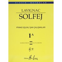 Lavignac Solfej 1A - Büyük Boy