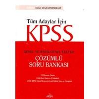 KPSS Genel Yetenek - Genel Kültür Çözümlü Soru Bankası
