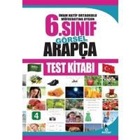 İmam Hatip Ortaokulu Müfredatına Uygun 6. Sınıf Görsel Arapça Test Kitabı