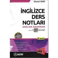 2016 YDS Gramer İngilizce Ders Notları
