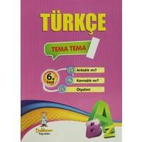 6. Sınıf Türkçe (6 Fasikül Test)