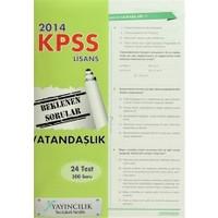 2014 Vatandaşlık KPSS Lisans Beklenen Sorular