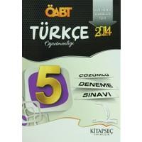 2014 ÖABT Türkçe Öğretmenliği + 5 Çözümlü Deneme Sınavı