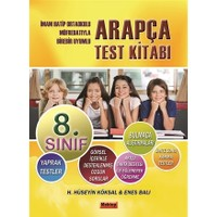 8. Sınıf Arapça Test Kitabı