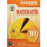 10. Sınıf Matematik Konu Anlatımlı Soru Bankası