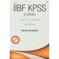 İİBF KPSS B Grubu
