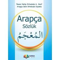 6. Sınıf Arapça Sözlük